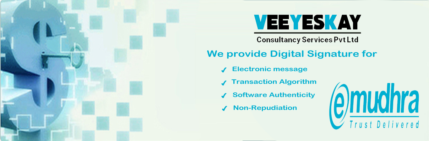 Digital Signature Certificate Providers In Coimbatore Salem